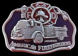 100 Truck Belt Fireman BucklesFirefighter BuckleAmerican Fireman