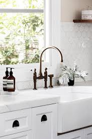 rubbed bronze farmhouse kitchen faucet most white with
