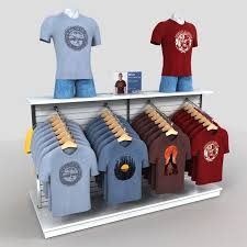Clothing Rack Mens T Shirts Model