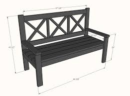Ana White Diy Shed by Large Diy Front Porch Bench Ana White Annie Sloan And Legs