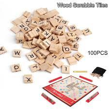 100 scrabble tile value change a personalised scrabble tile