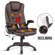 Massage Chair Amazon Uk by Uenjoy 6 Point Massage Chair Executive Ergonomic Heated Vibrating