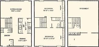 2 bedroom apartment townhomes fort wayne willow creek crossing