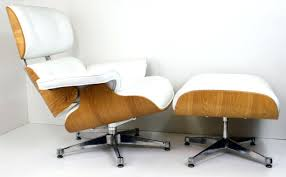 Charles Eames Lounge Chair Ottoman Genuine White Leather With ... The Eames Lounge Chair Is Just One Of Those Midcentury Fniture And Plus Herman Miller Eames Lounge Chair Charles Herman Miller Vitra Dsw Plastic Ding Light Grey Replica Kids Armchair Black For 4500 5 Off Uncategorized Gerumiges 77 Exciting Sessel Buy Online Bhaus Classics From Wellknown Designers Like Le La Fonda Dal Armchairs In Fiberglass Hopsack By Ray Chairs Tables More Heals Contura Fehlbaum Fniture And 111 For Sale At 1stdibs