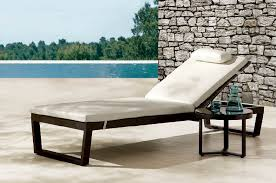 Make it more forting Outdoors by using a Patio Chaise Lounge
