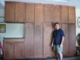 build wooden build your own garage cabinets plans download build