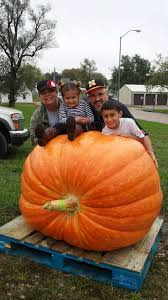Heaviest Pumpkin Ever by One Great Pumpkin La Vista Family Harvests 680 Pounder Good