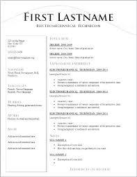 Sample It Resume Cover Letter Format Of