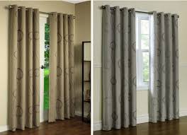 Thermal Curtain Liner Fabric by Free Fabric Samples Brook Blackout Thermal Grommet Top Curtains