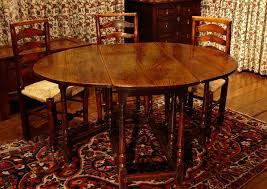 Antiques Oak Gateleg Dining Table