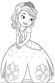Princesa Sofia Para Colorear Kids ColoringChildren Coloring PagesColoring