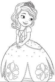 Princesa Sofia Para Colorear Kids ColoringChildren Coloring PagesColoring