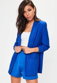 women u0027s longline blazer long blazers missguided