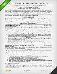 CTO Resume Sample Page 1