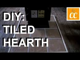 diy make your own tiled hearth save money