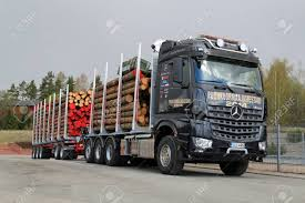 SALO, FINLAND - MAY 2, 2014 Mercedes-Benz Arocs 3263 LK 8x4.. Stock ...