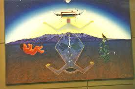 Denver International Airport Murals Horse by Denver International Airport Murals Are So Prophetic Duh