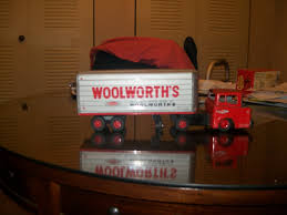 An Old Woolworth Toy Semi And Trailer | Collectors Weekly Vintage 1960s Japan Safeway 16 Tin Tractor Trailer Toy Semi Truck Hess Toy Revealed Hesstruck2013 Hexpress Amazoncom Newray Peterbilt Us Navy Diecast 132 Scale Mack Log Diecast Replica Assorted Cars Trucks And Collection Disney Promotional Large Stress Toys With Custom Logo For 1455 Ea 164th Dcp Freightliner Cabover Custom Youtube Sandi Pointe Virtual Library Of Collections Reviews Truckfreightercom Dunkin Donuts Collector Toy Di Cast Truck Semi Tractor Trailer Stock Turn Into Gas Rc Best Resource R Us Semitrailer By Thomasanime On Deviantart