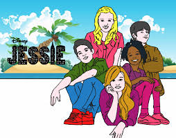 Disney Channel Jessie Printable Coloring Pages