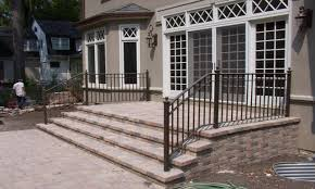Black Aluminum Porch Railing Gilpin Inc Summit Aluminum Porch Or