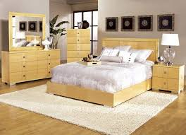 Light Wood Contemporary Bedroom Furniture