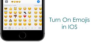 How To Turn EMOJIs In IOS 10 Using Iphone 7 Plus Urdu Hindi