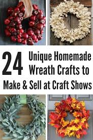Crafts To Make And Sell For Extra Money During The Holidays Fall Wreaths Christmas