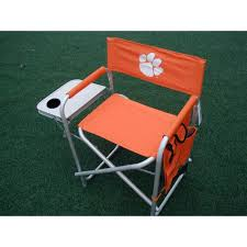 Clemson Tigers NCAA Ultimate Directors Chair | Products ... Black Clemson Tigers Portable Folding Travel Table Ventura Seat Recliner Chair Buy Ncaa Realtree Camo Big Boy Game Time Teamcolored Canvas Officials Defend Policy After Praying Man Is Asked Oniva The Incredibles Sports Kids Bpack Beach Rawlings Changer Tailgate Tailgating Camping Pong Jarden Licensing Tlg8 Nfl Tennessee Titans Ebay