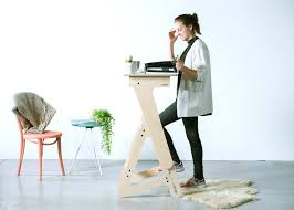 Humanscale Standing Desk Converter by Wooden Standing Desk Nomad The Only Wooden Height Adjustable
