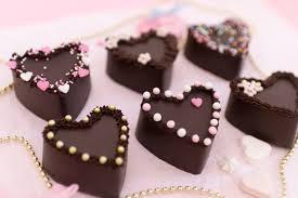 mini schoko kuchen nobake schokoladenkuchen herzen