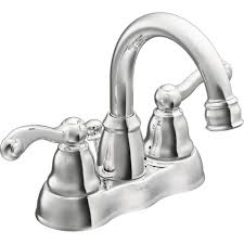 Menards 4 Bathroom Faucets by Moen Ws84003 Traditional Chrome Two Handle Centerset Bathroom