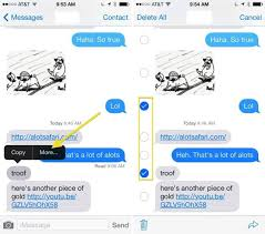 How To Delete Text Messages From Your iPhone In iOS 7 [iOS Tips