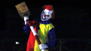Halloween Scare Pranks by Killer Clown Scare Prank Horror Movie News And Reviews