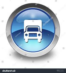 Icon Button Pictogram Trucks Symbol Stock Illustration 177596345 ...