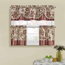Jcpenney Kitchen Curtains Valances by Bijoux Soiree Kitchen Curtains