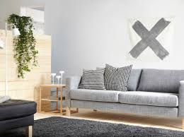 Karlstad 3 Seat Sofa Cover by Karlstad Three Seat Sofa With Isunda Grey Cover And Ikea Ps 2012