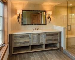 Rustic Bathtub Tile Surround by Bathroom Vanities Amazing Rustic Bathroom Vanity Plans Diy Do It