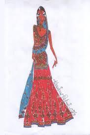 Pakistani Designer Kamiar Rokni Fashion Wear Clothing Sketches 2007