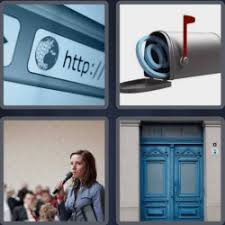 4 pics 1 word 7 letters address 4 Pics 1 Word game