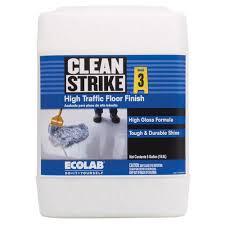 Zep Heavy Duty Floor Stripper by Clean Strike High Traffic Floor Finish 5 Gallon At Menards
