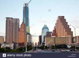 100 Austin City View View From Congress Avenue Bridge In Stock Photo