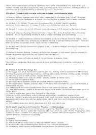 Example For Job Resume Meganwest Sample Cover Letter Plant Manager Samples