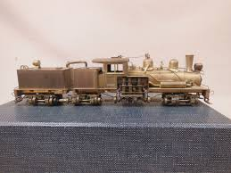 HO SCALE BRASS United 3-Truck Shay Class