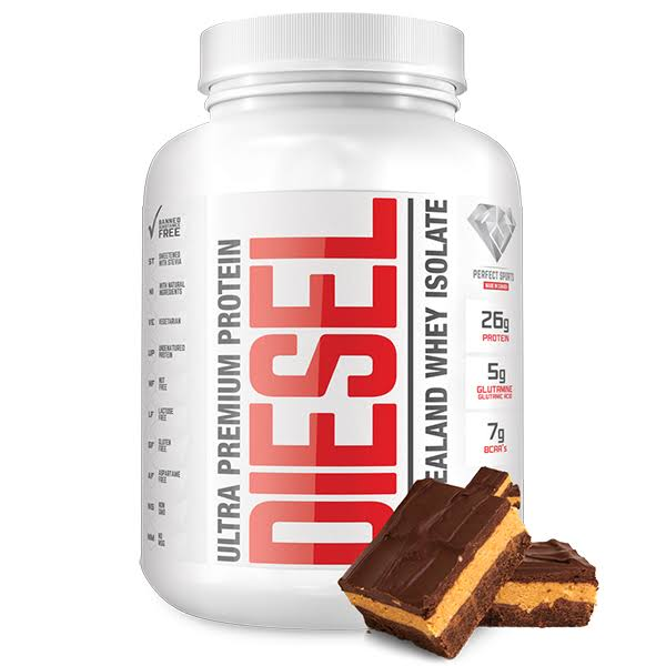 Diesel New Zealand Protein Whey Isolate - Chocolate Peanut Butter, 5lbs