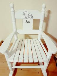 Children's Small Rocking Chair Personalised With Child's Name From Powell  Craft Winnie The Pooh White Child Toddler Small Rocking Chair In Dawlish Devon Gumtree Rocking Chair For Small Spaces Chairs Antique Gustav Stickley W4168 Heirloom With Cushions Mller Living Rocker Takestop Set Of 2 Wooden 15 Cm Decoration Best Glider Recliner Nursery Childs Bentwood C1920