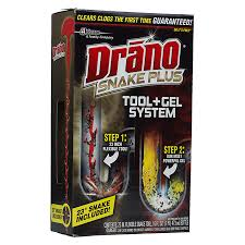 Drano For Sink Walmart by Drano Snake Plus Drain Cleaning Kit Walgreens