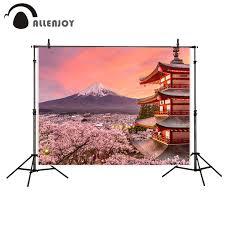 100 Fuji Studio Allenjoy Photo Background Japanese Style Backdrop Mount