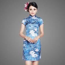 brocade a line floor length halter dragon robe expensive cheongsam
