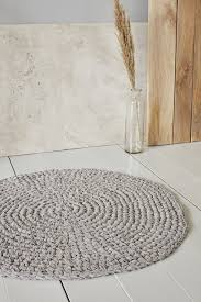 house doctor badezimmer teppich crochet rund