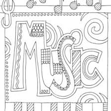 Music Coloring Pages Free Printable AZ